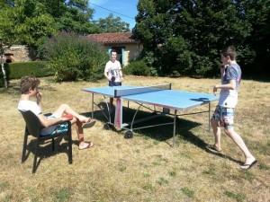 Goede tennistafel